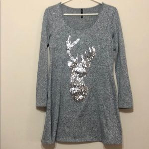 Yoyo 5 Christmas reindeer dress